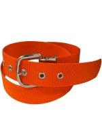 ベルト 1ツ穴40ミリ幅オレンジ色ナイロンベルト