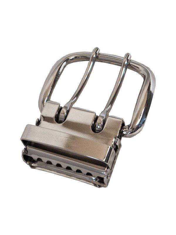 2ツ穴40ミリ幅ベルト用バックル単体
