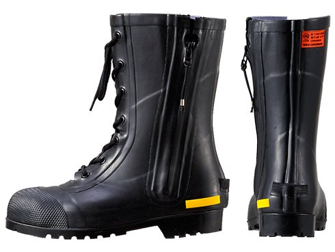 消防団員用ゴム半長靴 SG201【画像2】