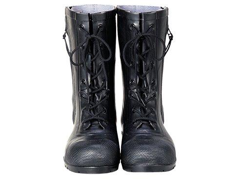 消防団員用ゴム半長靴 SG201【画像3】