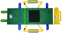 簡易トイレ・救急・衛生 【送料無料】救助担架フレスト 日本製 ユニバーサルデザインに基づいた担架