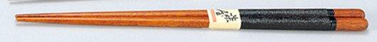 滑りにくく布を巻きした 布張り 箸 黒 /工芸品/通販/漆器/
