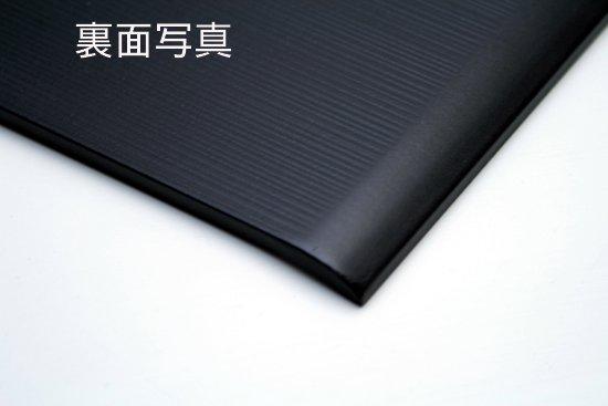 両折皿 黒と朱 ペア 日本製 写真その3