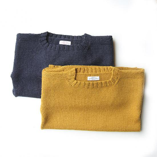 """LENO & CO."" HAND-KNITTED RC SWEATER"