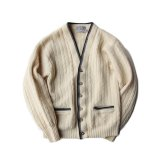 60s CABLE KNIT CARDIGAN