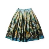 EURO VTG 50s PICTURE PRINTED SKIRT