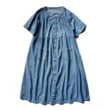 USED POCKET DENIM DRESS