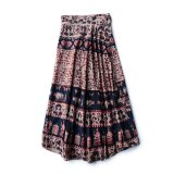 70s DEAD STOCK INDIAN COTTON WRAP SKIRT