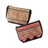ARI BIJOUX HMONG EMBROIDERY POUCH M