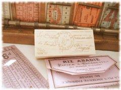 パリの消印 コラージュ