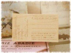 ヴィンテージラベル 旅チケット
