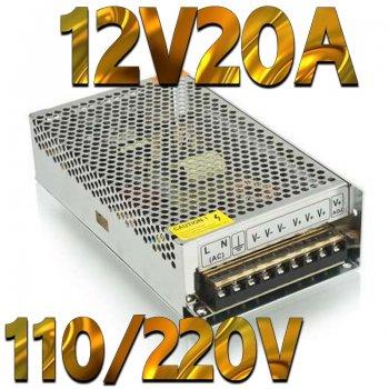 直流安定化電源AC100V DC12V20A(240W)