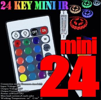 mini 24KEY LED RGBコントローラー