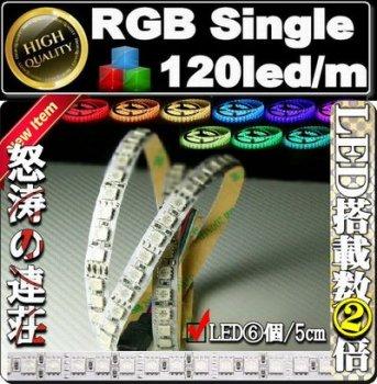 120led/m RGB LEDテープライト切売販売中