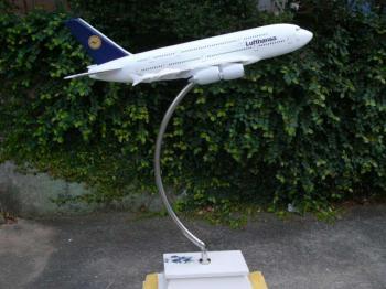 大型飛行機模型 A380「Lufthansa - ルフトハンザ航空」