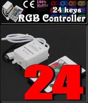 LEDテープライト用 RGBコントローラー 24KEY