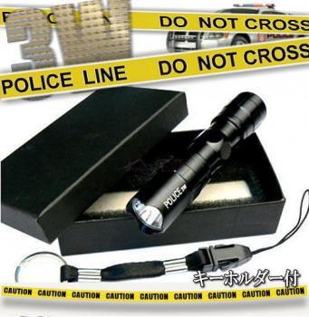 防滴仕様!LEDハンディライト Police 3W Led