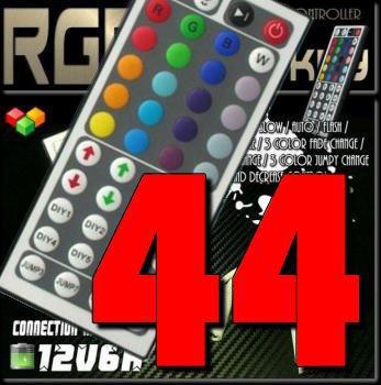LEDテープライト用 RGBコントローラー44KEY
