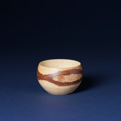 盆栽 白樺丸鉢(小)