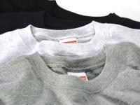 丈夫で長く使える 無地Tシャツ(6.2オンス)