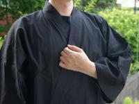 おすすめ作務衣 (S〜3L)男性用 黒色