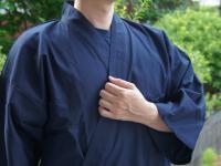 おすすめ作務衣 (S〜3L)男性用 濃紺