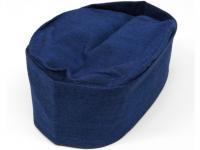 和帽子 藍染め 濃紺 日清紡素材使用 【日本製】