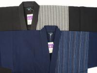 夏用しじら織りデザイン作務衣 (綿100%)