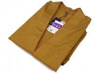 女性用 絣柄作務衣 (濃紺・えんじ・からし) 日本製