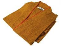 激安 作務衣(さむえ)カラシ 綿100% 女性用