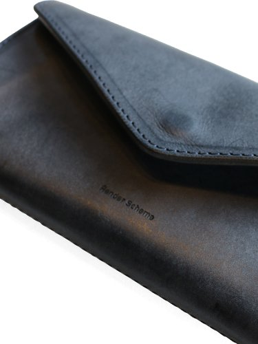 【Hender Scheme】LONG WALLET (NAVY)_1