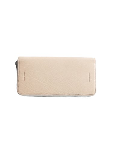 【Hender Scheme】LONG ZIP PURSE (NATURAL)_main
