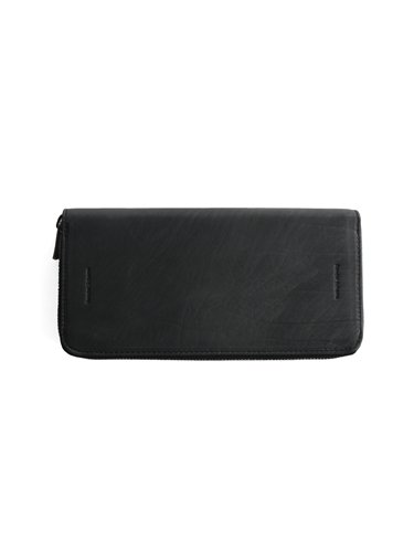 【Hender Scheme】LONG ZIP PURSE (BLACK)_main
