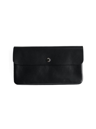 【STANDARD SUPPLY】PAL / LONG FLAP WALLET (BLACK)_main