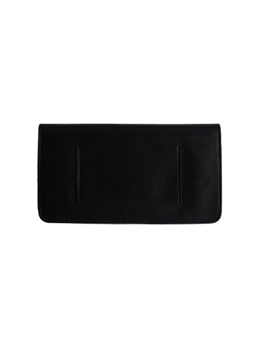 【STANDARD SUPPLY】PAL / LONG FLAP WALLET (BLACK)_1