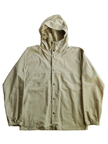 【YAECA unisex】60/40 CLOTH HOOD SHIRT LONG (BEIGE)_main