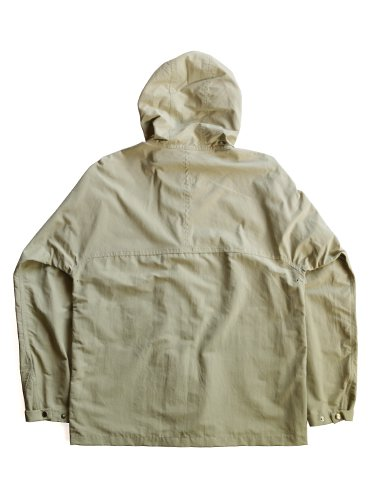 【YAECA men's】60/40 CLOTH HOOD SHIRT LONG (BEIGE)_3