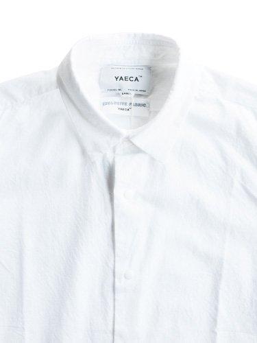 【YAECA men's】COMFORT SHIRT - STANDARD (WHITE)_1