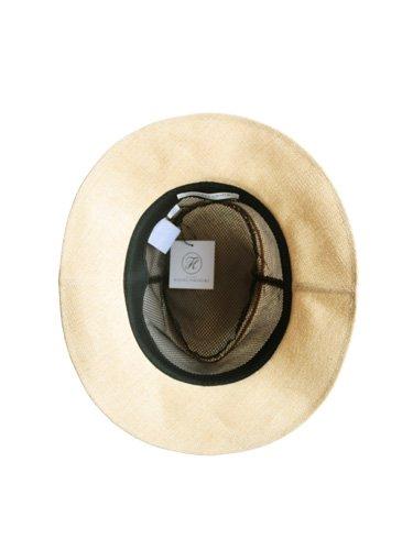 【KIJIMA TAKAYUKI】PAPER CLOTH HAT - MIDDLE BRIM (BEIGE) _1