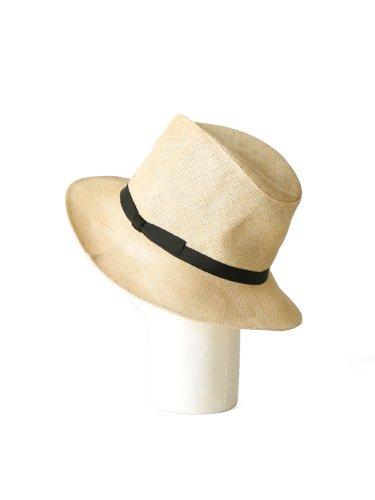 【KIJIMA TAKAYUKI】PAPER CLOTH HAT - MIDDLE BRIM (BEIGE) _3