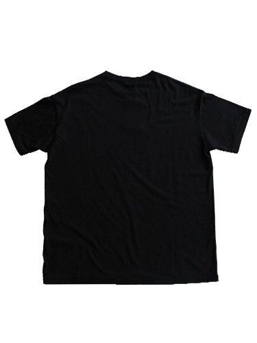 【AURALEE men's】SEAMLESS CREW NECK TEE (BLACK)_3