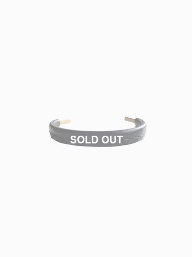 【Hender Scheme】NOT LYING JEWELRY BANGLE BRASS S (BLACK)_main