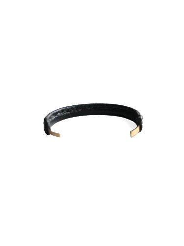 【Hender Scheme】NOT LYING JEWELRY BANGLE BRASS S (BLACK)_3