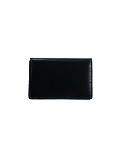 【ARTS&CRAFTS】CORDOVAN ACC / CARD CASE (BLACK)_1