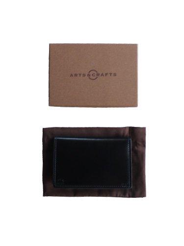 【ARTS&CRAFTS】CORDOVAN ACC / CARD CASE (BLACK)_3