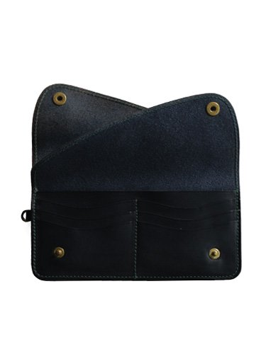 【ARTS&CRAFTS】ELBAMATT ACC / LONG WALLET (NAVY)_2
