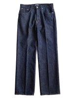 【AURALEE men's】HARD TWIST DENIM 5P PANTS (INDIGO)