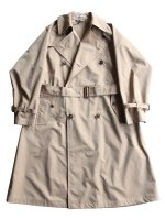 【AURALEE women's】FINX POLYESTER BIG TRENCH COAT (BEIGE CHAMBRAY)