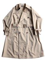 【AURALEE women's】FINX POLYESTER BIG TRENCH COAT (BEIGE CHAMBRAY)