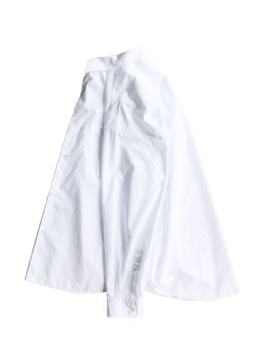 【Graphpaper men's】BROAD REGULAR COLLAR OVERSIZED SHIRT (WHITE)_2